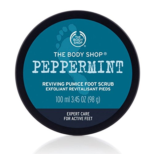 The Body Shop Peppermint reviving Pumice Foot Scrub 100ml