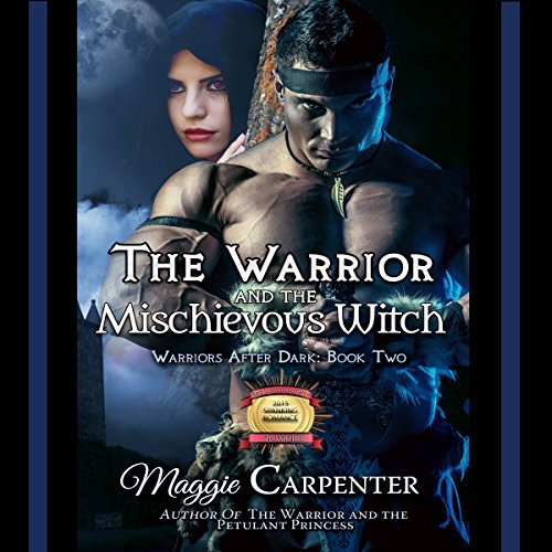 The Warrior and the Mischievous Witch audiobook cover art