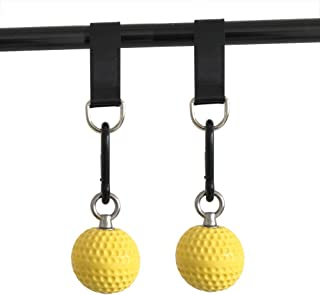 letsgood Climbing Pull Up Power Ball Hold Grips - Durable and Non-Slip Hand Grips Strength Trainer Exerciser for Bouldering, Pull-up, Kettlebells, Fitness, Workout