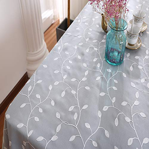 marca blanca embroidered table cloth, polyester cotton, coffee table cloth, cover towel 40 * 160cm