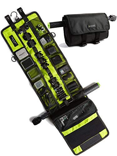 GoScope PRO Flex CASE – HERO3 / HERO3+ / HERO4 / HERO5 / HERO6 / HERO7 / HERO8 / HERO9 / GOPRO Hero Roll & Go Storage Bag for GoPro Cameras {Includes New Waterproof Phone Compartment}