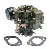 KIPA Carburetor YF Type Carter Carburetor For Ford 240 250 300 YF C1YF 6 Cylinder CIL Engine 1975-1982 D5TZ9510AG Replace # RSC-300A 6307S 6054 6055 6-736 6056 6057 6058 6059