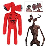 TOLINA 15' Siren Head Plush Toy Stuffed Plush Doll Toy Kids Gift,Halloween Thanksgiving Christmas Party Boys and Girls Gift (Red)