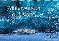 Winterwunder auf Island (Wandkalender 2022 DIN A2 quer): Traumhafte Winterlandschaften auf Island laden Monat fuer Monat zum Staunen ein. (Monatskalender, 14 Seiten )