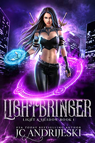 Lightbringer: An Enemies to Lovers Urban Fantasy with Demons, Portals, Witches, Renegade Gods, & Other Assorted Beasties (Light & Shadow Book 1) by [JC Andrijeski]