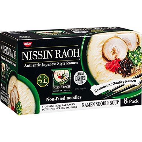 Nissin Roah Ramen Non Fried (8/ 3.53 Ounce ) (Net Wt 28.2 Ounce ), 28.2 Ounce