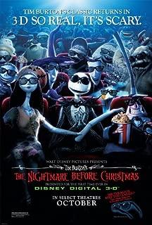 nightmare before christmas original movie poster