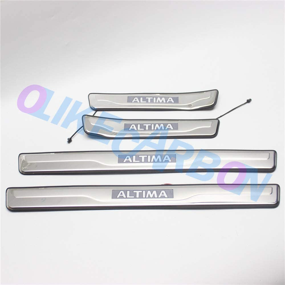 OLIKE for Nissan Weekly Manufacturer OFFicial shop update Altima 2013-2018 Car Plate Sill Scuff Door Led