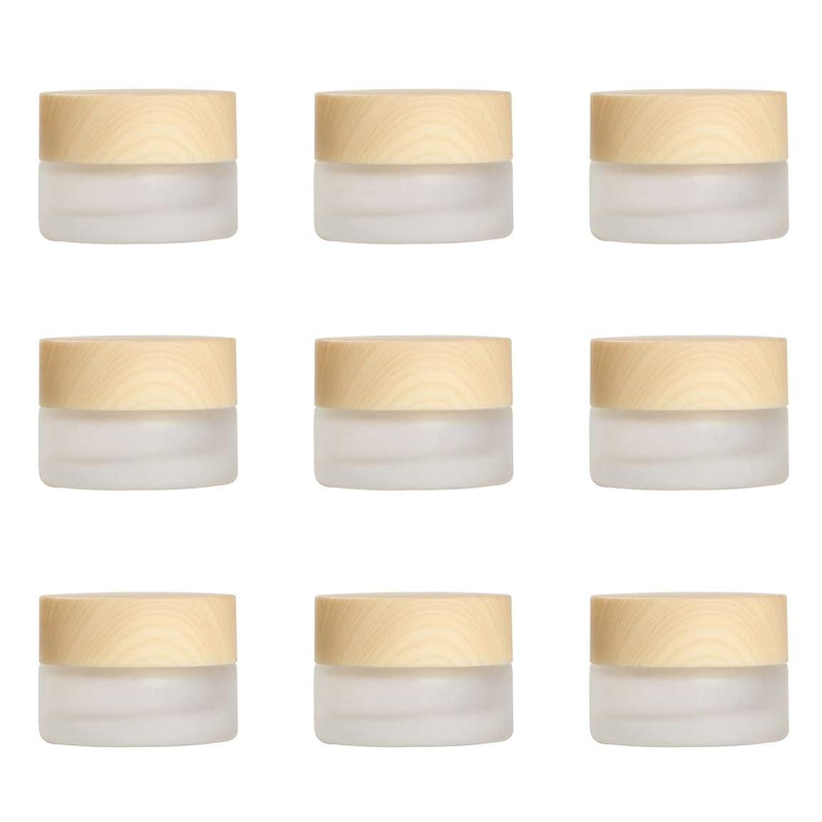 気質バレーボール確執Yiteng スポイト遮光瓶 アロマオイル 精油 香水やアロマの保存 小分け用 遮光瓶 保存 詰替え ガラス製 9本セット (艶消しガラス5g)