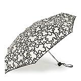 Paraguas mini plegable Kaos en color arena-negro (595990001)