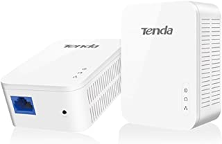 Tenda Ph3 Adaptador de Red Gigabit Powerline (1000Mbps, Ahorro de Energía, Plug & Play, Compatible con Otros Adaptadores d...