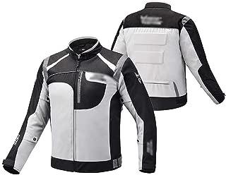 M-3XL XEPAJS Chaqueta Moto,Cordura Protecciones en Codos Hombros y Espalda Forro Polar Desmontable Chaqueta Moto Hombre Textil Impermeable con Armadura Tourer
