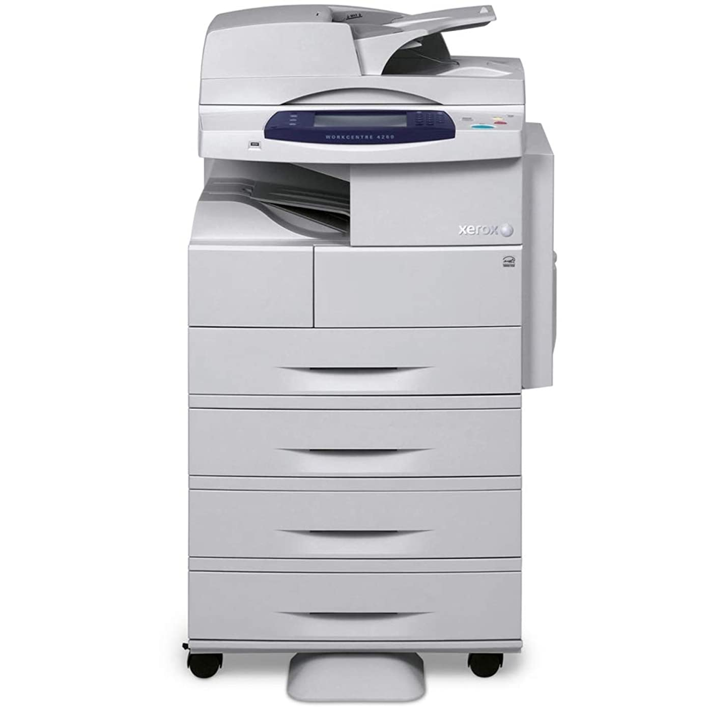 Used Xerox WorkCentre 4260XF Mono Laser MFP Printer Copier Scanner with Finisher 55 PPM