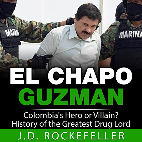 El Chapo Guzman audiobook cover art