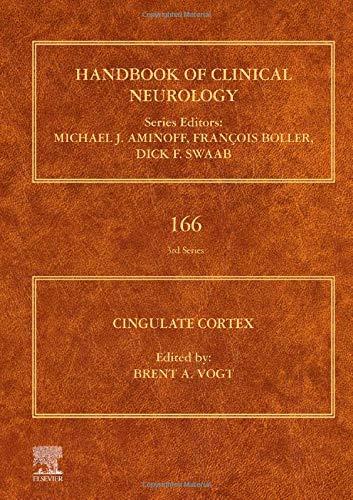 Cingulate Cortex (Volume 166) (Handbook of Clinical Neurology, Volume 166, Band 3)