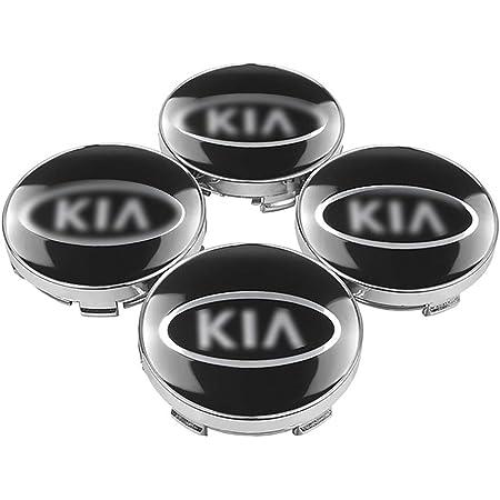 Nadaenta 4x Auto Felgenkappen Nabenkappen Felgendeckel Radnabe Centre Cap Für Kia Rio Ceed Sportage Sorento K2 K3 K4 K5 K6 Autodekorationsteile Verwendet Küche Haushalt