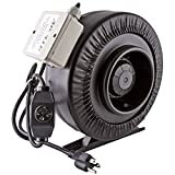 """Suitable 6"""" exhaust fan for growing cannabis"""