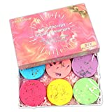 EYEKESHE Aromatherapy Shower Steamers Gifts for Women, Unique Gifts Shower Bombs with Pure Essential Oils for Birthday, Home Spa Stress Relief, Bathtub, Shower Melts and Self Care