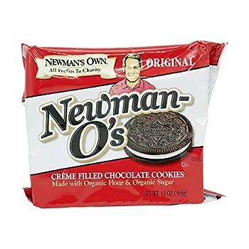 Newman s Own Organic Cookie O Chocolate Vanilla Creme 13 oz