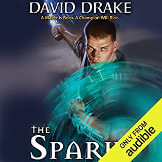The Spark audiobook cover art