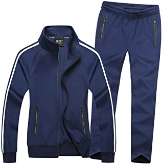 Women's Active Tracksuit Seamless Pocket Jogging Jacket & Pants Set