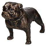 AB Tools Pit Bull Terrier Perro Hierro Fundido de la Estatua Figura Escultura Ornamental