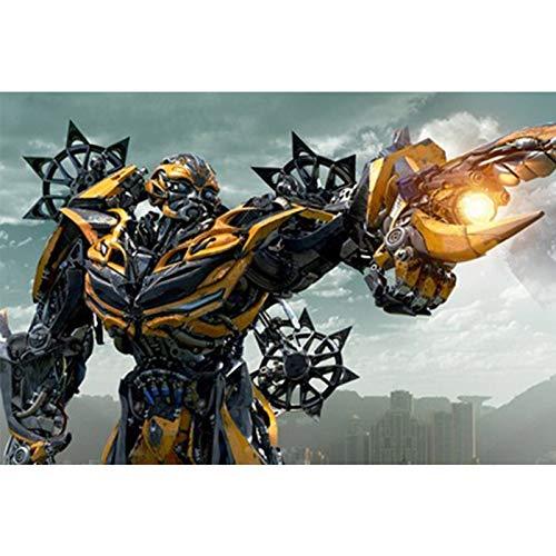 300 1000 Piezas De Rompecabezas De Madera 500 Piezas De Cómics Animados Película Transformers 4 Optimus Prime Hornet(Color:re,Size:1500pc)