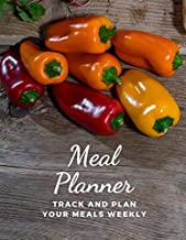 Meal Planner: Track And Plan Your Meals Weekly | 55 Week Food Planner & Shopping List Menu Food Planners Prep Book Eat Records Journal Diary Notebook ... Journal (Meal Prep And Planning Grocery List)