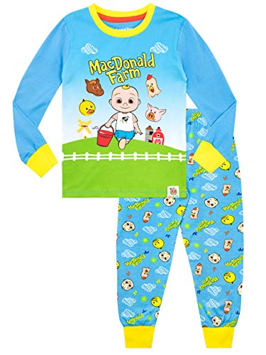 Cocomelon Boys Pajamas Blue 3T