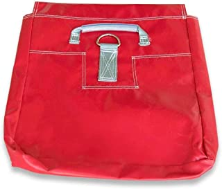 TentandTable Red 21-Inch x 21-Inch Strong Vinyl Sand Bag, Support and Anchor for Inflatables, Bounce Houses and Tents