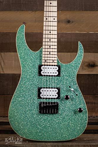 Ibanez RG Standard RG4210MSP Electric Guitar (Turquoise Sparkle)
