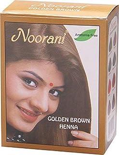 Noorani Chestnut Henna for Hair 6 X 10 Gms