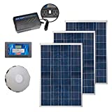 Coleman 300 Watt Solar Kit With Charge Controller, Inverter and Solar Panel