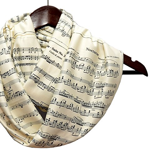 Musical Notes Women's Scarf