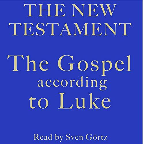 The Gospel According to Luke cover art