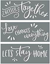 Best let's stay home stencil Reviews