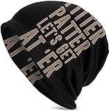Anemone - Estor de Pitter Patter, diseño de letras Kenny Mens Slouchy Beanie Hat Thin Baggy for Summer Winter Unisex