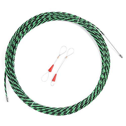 MASUNN 5Mm Flexibele Glasvezel Kabel Trekker Handige Draad Elektrische Gereedschap Visband 5M/10M/15M/20M/25M/30M/35M/40M, 10M, 1