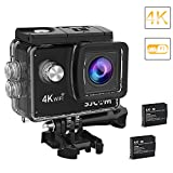Original SJCAM SJ4000 Air 4K Wi-Fi Action Camera 16MP Waterproof DV Camcorder 170 Degree Wide Angle LCD with 2 Batteries and Mounting Accessories Kit