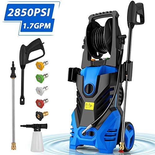%6 OFF! Homdox 2850PSI Pressure Washer,1.7GPM Electric Pressure Washer,1800W High Car Pressure Washe...