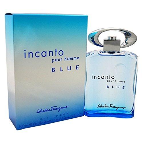 S. FERRAGAMO INCANTO BLUE EDT SPRAY 3.4 OZ INCANTO BLUE/S. FERRAGAMO EDT SPRAY 3.4 OZ (100 ML) (M)