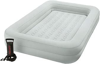 Intex Kidz Travel Bed Set - Kinder Luftbett - 107 x 168 x 25 cm - Mit Handpumpe - Beige