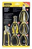 STANLEY Pliers Set, Bi-Material, Mini Set, 6-Piece (84-079)