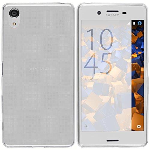 mumbi Hülle kompatibel mit Sony Xperia X Performance Handy Hülle Handyhülle dünn, transparent