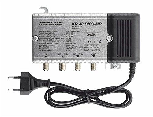 Kreiling Tech. BK-Verstärker 39dB KR 40 BKG-MR 29dB Rückweg 0-65MHz BK-Verstärker 4250157712547