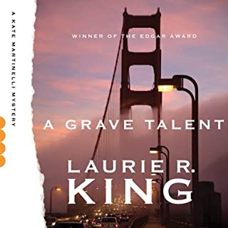 A Grave Talent audiobook cover art