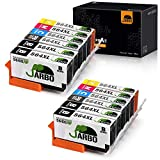 JARBO Compatible Ink Cartridge Replacement for 564XL, 5 Color (12 Packs), Compatible for Photosmart 5520 6520 7520 5510 6510 7510 7525 B8550 Premium C309A C410A Officejet 4620 Deskjet 3520