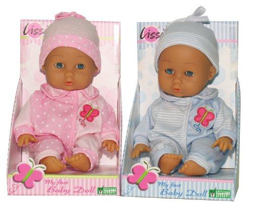LISSI DOLLS 91800 - Soft Baby, Circa 30 cm, Sortiert