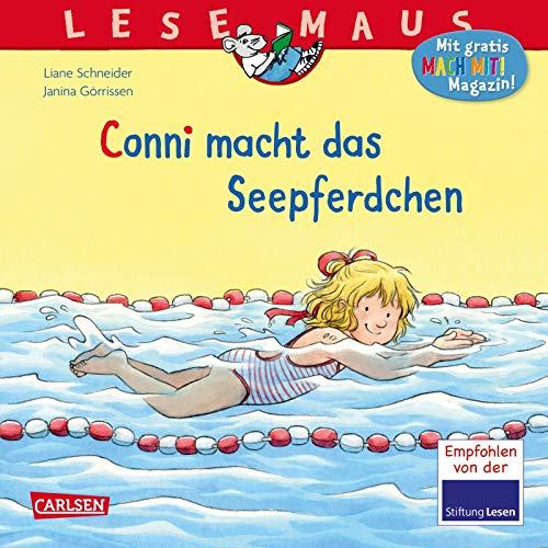 LESEMAUS 6: Conni macht das Seepferdchen (6)