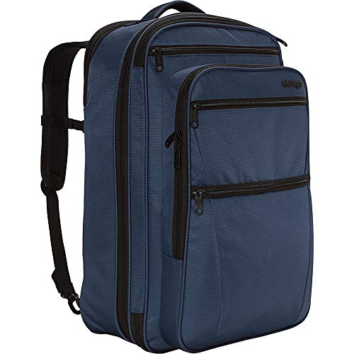 ebags etech 3.0 Carry-On Travel Backpack With Expandable Sides - Fits 17 Inch Laptop - (Sapphire Blue)